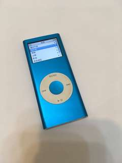 🚚 Apple iPod nano 2 藍色 4GB