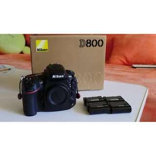 Nikon D800 水貨