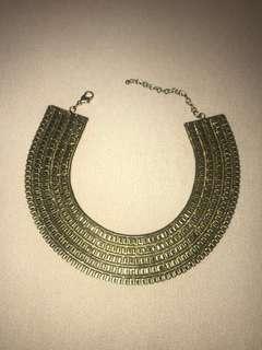 FINAL SALE H&M Aztec necklace