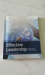 Effective Leadership LKCSB SMU textbook (for LTB)