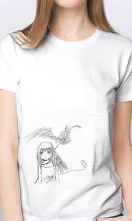 手繪T Shirt - Oxygen Girl