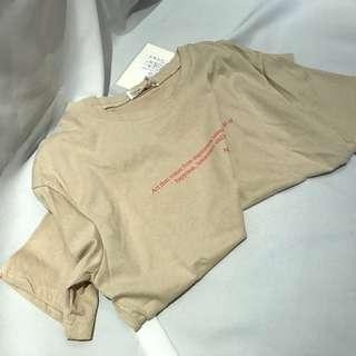 🚚 全新✨歐膩的短袖上衣 #女裝半價拉