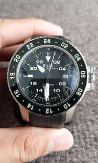 Ball Aerogmt Black Watch, with Bracelet and rubber strap