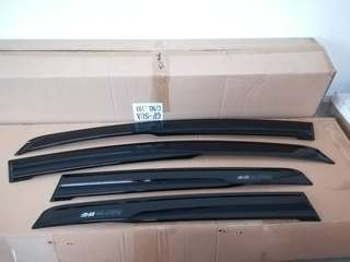 Honda JAZZ 2014 GK5 DOOR VISOR KIT ( MUGEN )