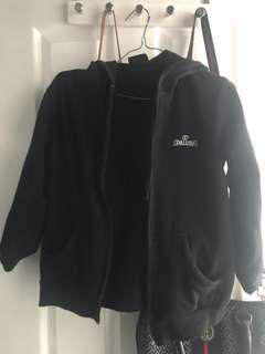 Spalding black hoodie