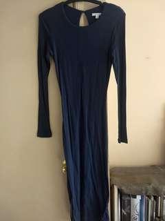 Kookai Long Sleeved Midi Dress