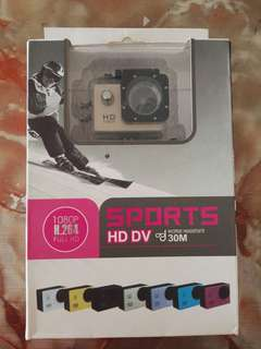 Sports HD DV 30 Meter Action Camera