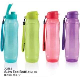 Tupperware Slim Eco Bottle