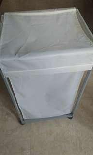 Ikea laundry basket on wheels 72 liter