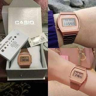 Casio Watch Rosegold #july70