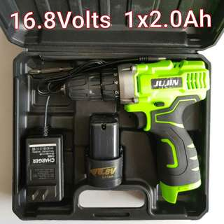 Brand New 16.8Volts Double Speed Cordless Drill