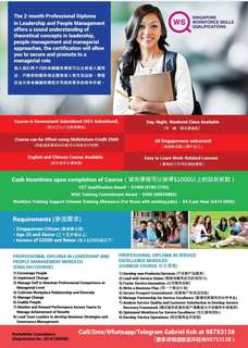 Professional Diploma in Service Excellence (Chinese Course)