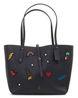 COACH AUTHENTIC PATCHES TOTE