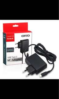 Nitendo switch charger type c