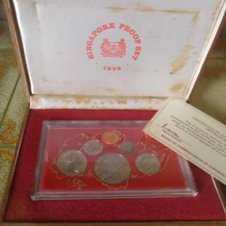 1975 Singapore Proof Coin Set