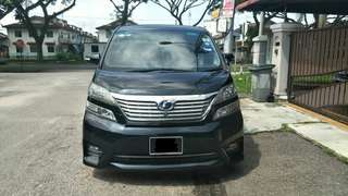 Toyota Vellfire 3.5 V6 #July100