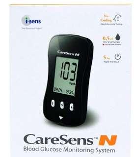 Caresens Blood Glucose Monitoring System