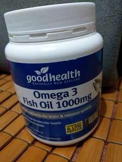 Good health 魚油丸 400粒 紐西蘭牌子
