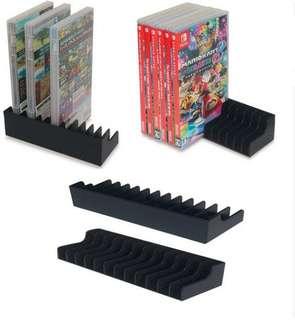 Game card storage holder