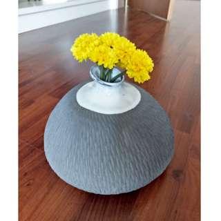 Home Decoration Grey Vase Vivere