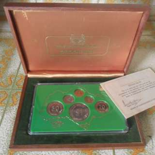 1976 Singapore Proof Coin Set