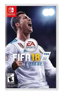 Switch FIFA 18 (brand new)