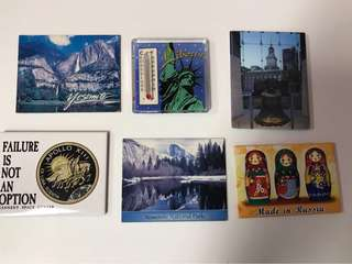 🚚 Assorted Fridge / Whiteboard Souvenir Magnets from USA America