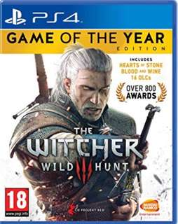 PS4 The Witcher 3 GOTY (brand new)