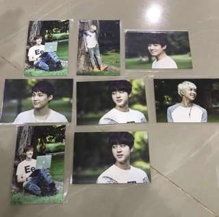 BTS Official Photocards (PC)