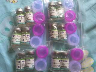 SALE..! Sparkle contact lense (Increased water)