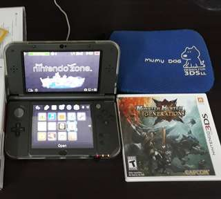 New 3DS XL with Monster Hunter Generatioms