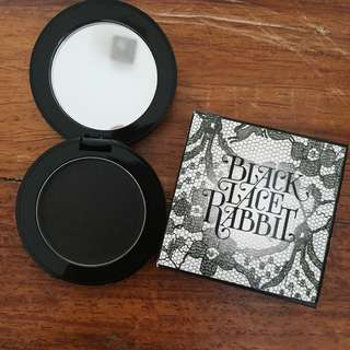 REPRICED!! NEW! Black Lace Rabbit Cream Blush