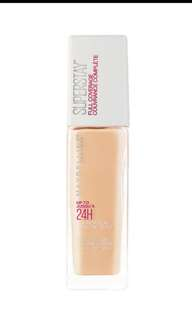 Maybelline Superstay Foundation 120 Classic Ivory