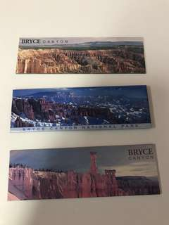 🚚 Bryce Canyon National Park USA Fridge / Whiteboard Souvenir Magnets