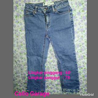Celana 7/8 soft jeans