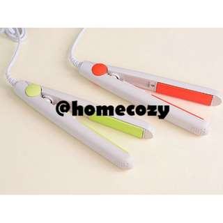 (BNIB) Travel 2-in-1 Ceramic Hair Straightener & Curler (Brand New Boxed)