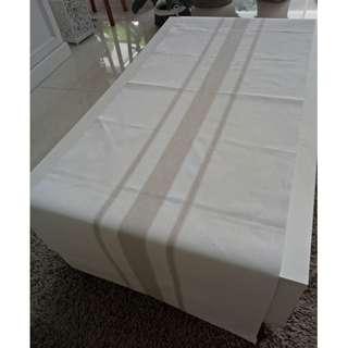 Home Decoration Runner Table Zara White Cream