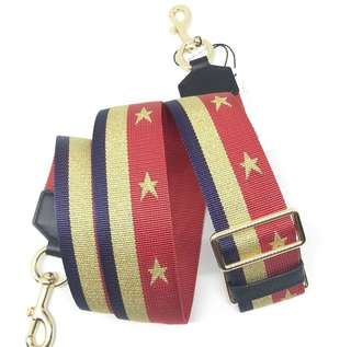 MARC JACOBS STRAP 5CM lLAVA RED MULTI