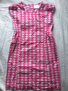 Hanna Andersson Dress 6-7 yo