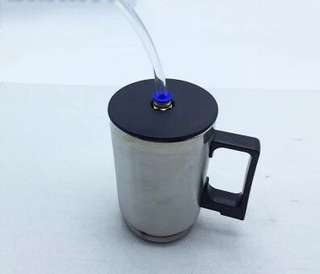 Headlamp coating cup