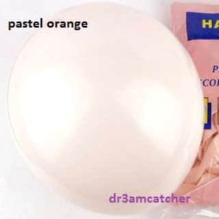 Soft Pastel 10 inch latex balloons