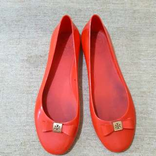 Tory Burch Jelly Shoes Authentic Preloved
