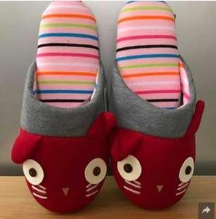 《全新日本直送》貓貓拖鞋