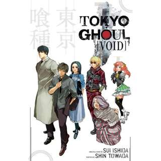 [PRE-ORDER] Tokyo Ghoul: Void by Shin Towada