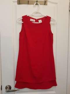 Liz Claiborne Red Shift Dress