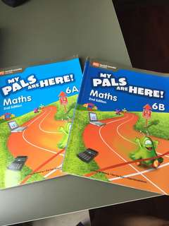 My Pals Are Here 6A & 6B maths textbooks