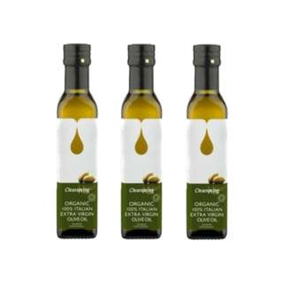 Clearspring Organic Extra Virgin Olive Oil Cold-Press 500ml x 3 bottles