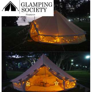 Glamping at East Coast Park (Weekend Only)