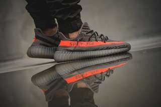 Adidas Yezzy 350 V2 Grey Orange
