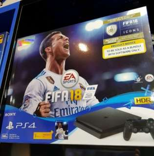 PS4 Slim With Fifa 18 Bundle for trade in option